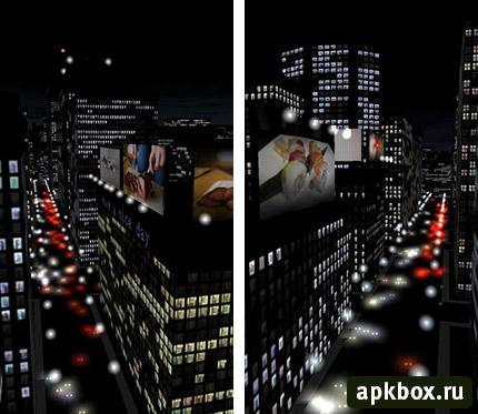 Живые обои города для андроид