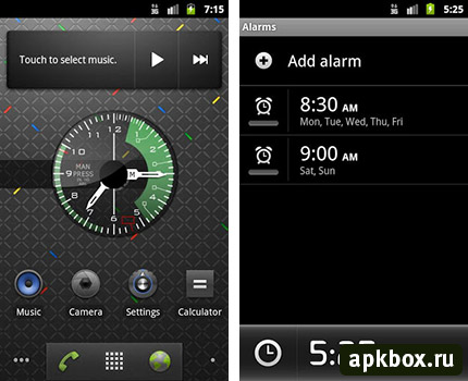 Fighter Clock - часы для Android