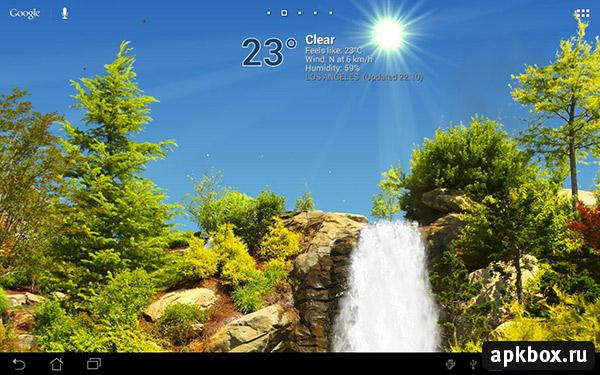 TrueWeather Waterfalls