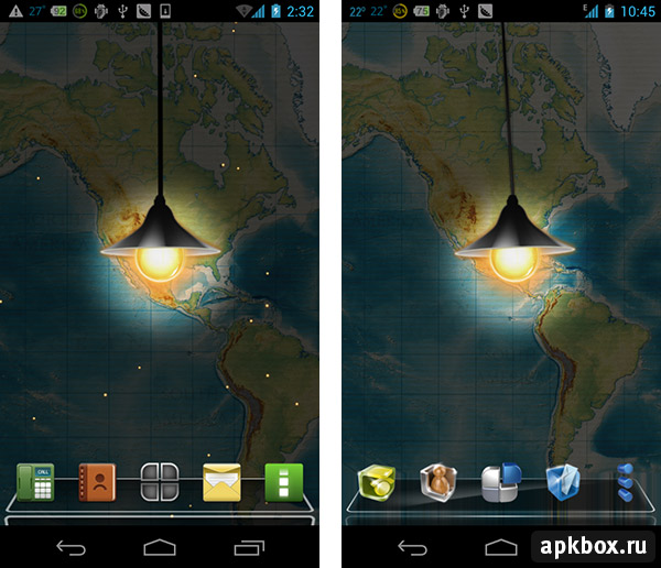 Next magic light - живые обои для Next Launcher