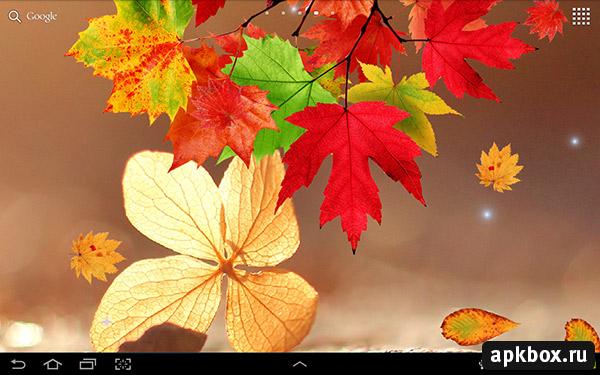 Скачать Живые Обои Осень