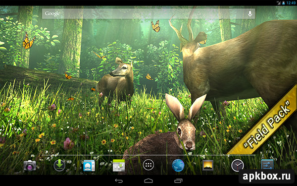 Forest HD. Живые обои от DualBoot Games