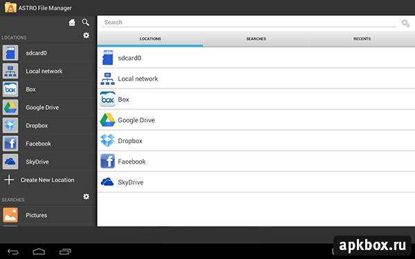 ASTRO File Manager для Android