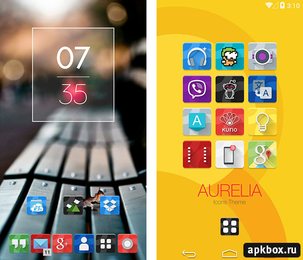 Aurelia Icons Theme for Android