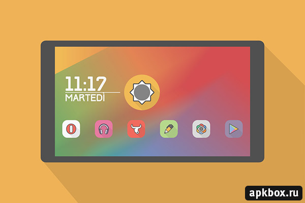 Parallax Icon Pack for Android
