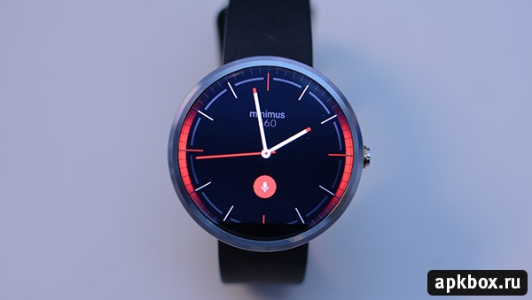 Minimus360 Watch Face для часов Android Wear