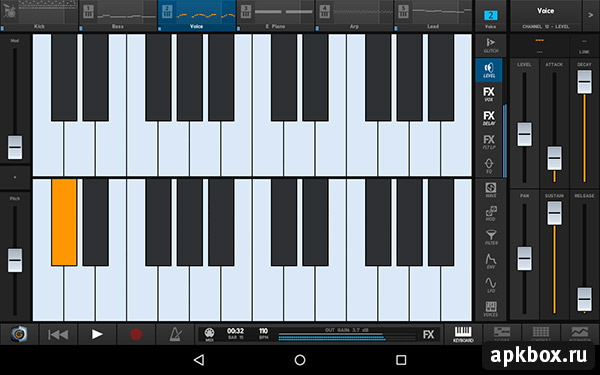 Groove Machine Mobile на Андроид