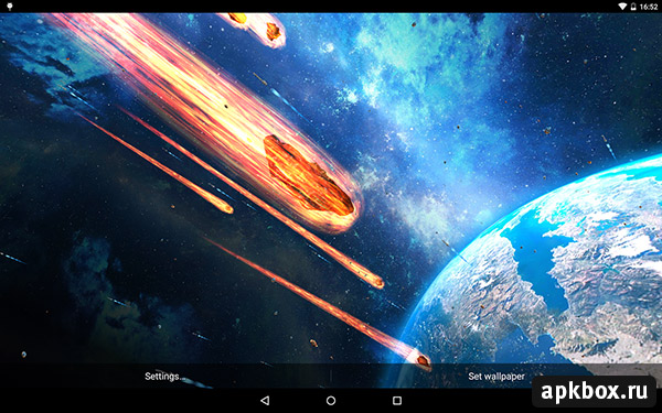 Armageddon Live Wallpaper