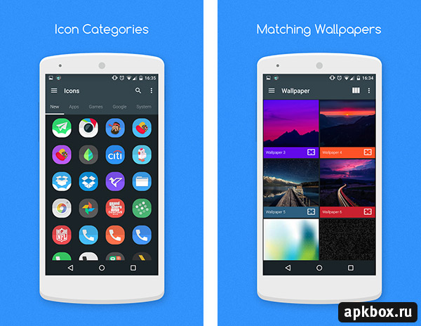 Crease Icon Pack. Иконки для лончеров