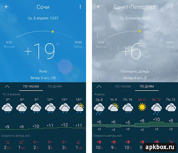 приложение гисметео на андроид скачать бесплатно - фото 2