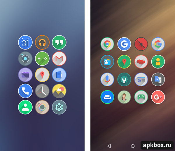 Velur Icon Pack