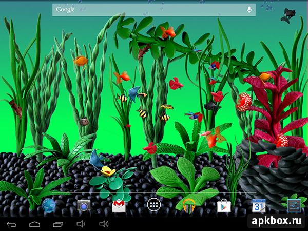Живые обои аквариум скачать бесплатно на андроид 6