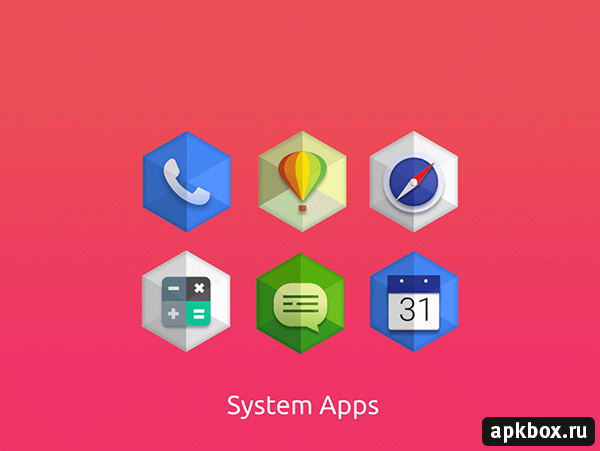 Kent Hexagon Icon Pack for Android
