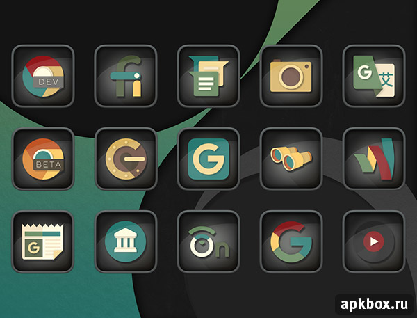 Empire Icon Pack. Тема на Android