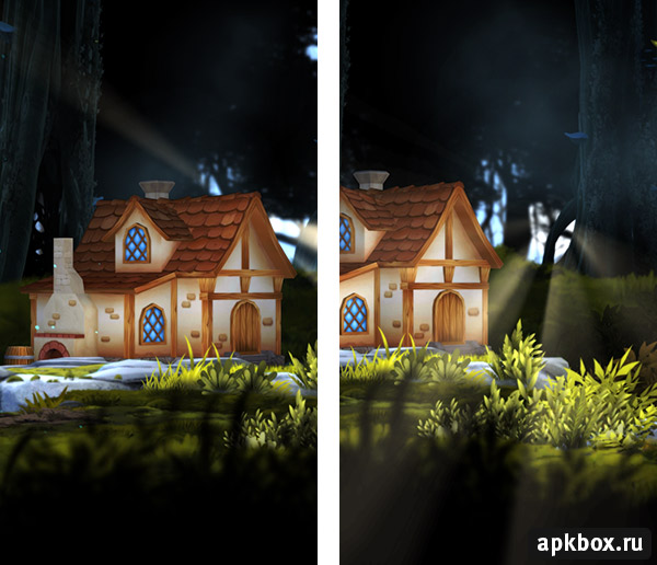 3D Forest House LWP на Андроид (со звуком)