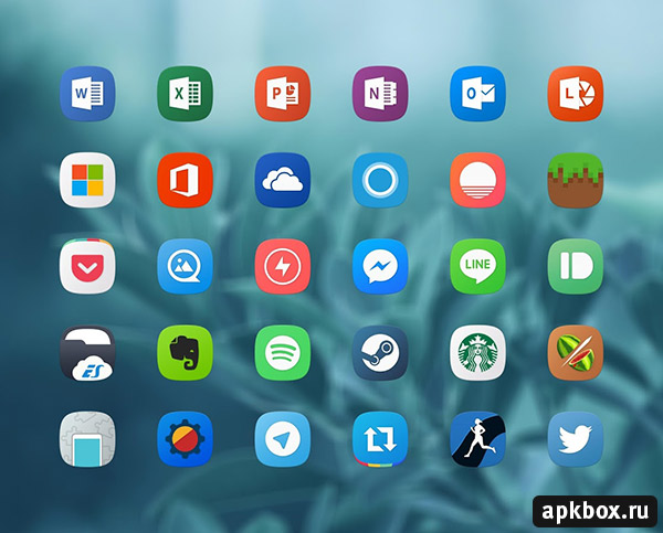 TouchWiz Icon Pack