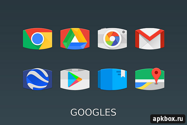 Panorama Material Icon Pack