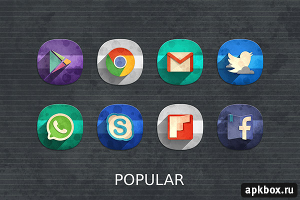 Classic Material Icon Pack