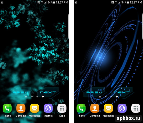 Abstract Gyro Live Wallpaper
