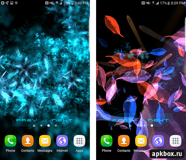 Abstract Gyro 2 3D Live Wallpaper