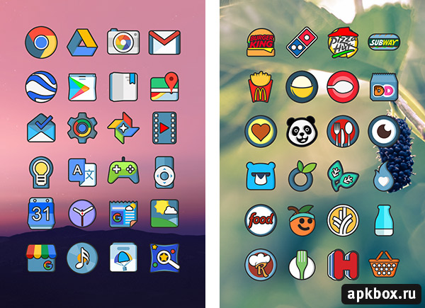 PokoGo Icon Pack. Тема в стиле Pokemon GO