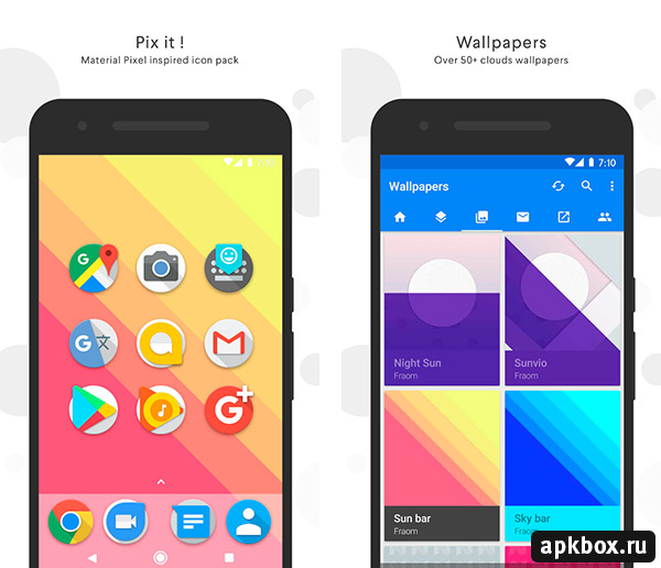 Pix it Icon Pack