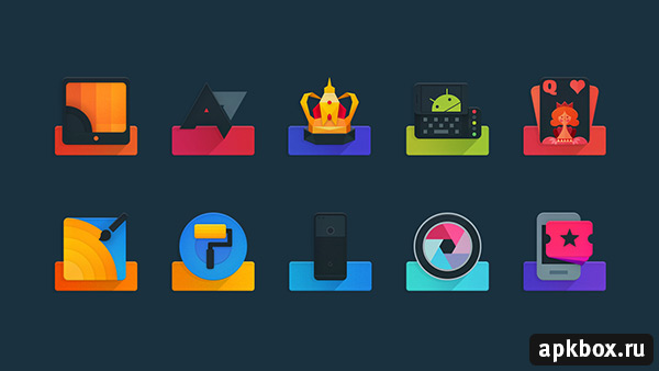 Ombre Icon Pack