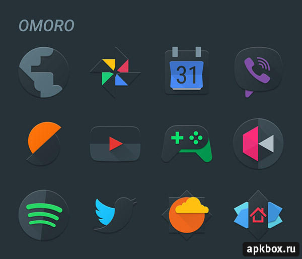Omoro Icon Pack