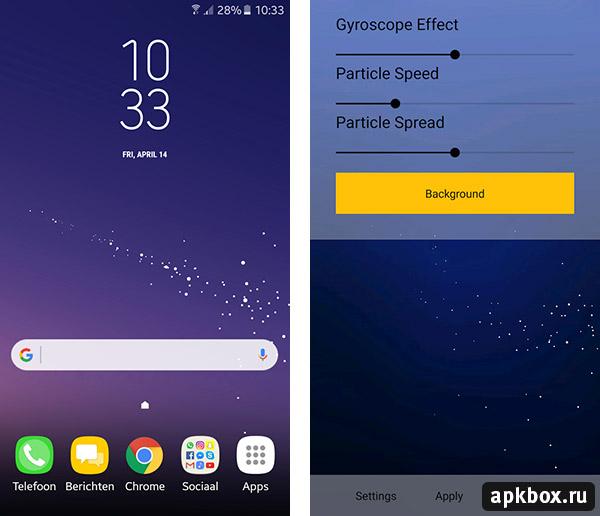 Samsung galaxy s8 live hintergrund