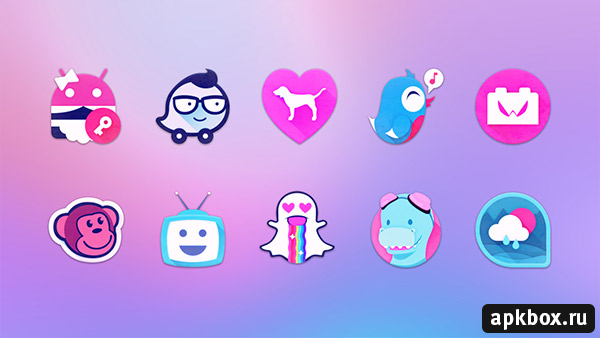 Unicorn Icon Pack