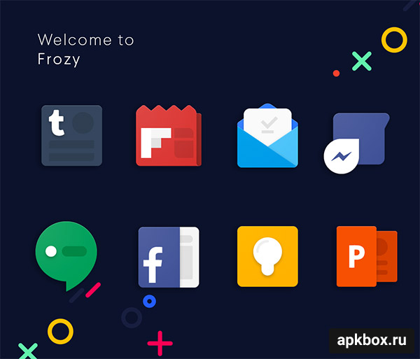 Frozy Icon Pack