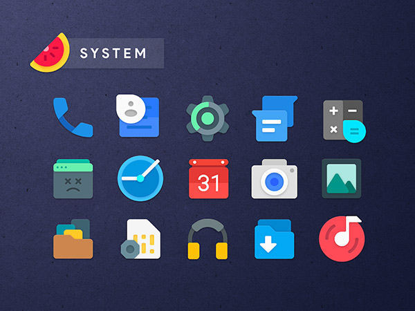 Sliced Icon Pack