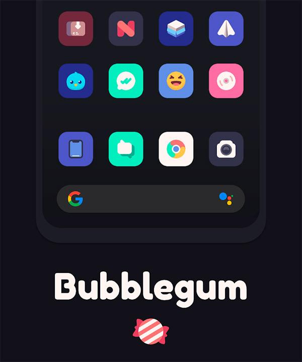 Bubblegum Icon Pack