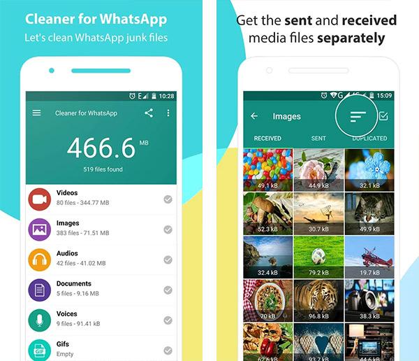 Очиститель для WhatsApp