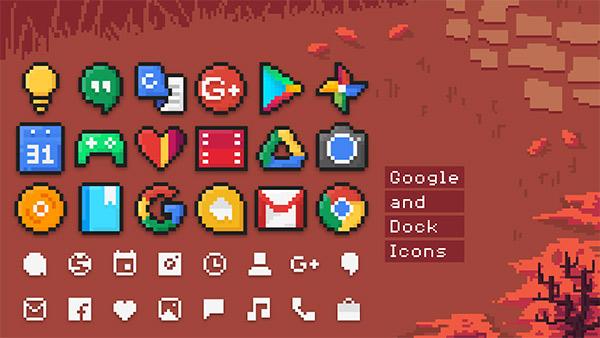PixBit Icon Pack