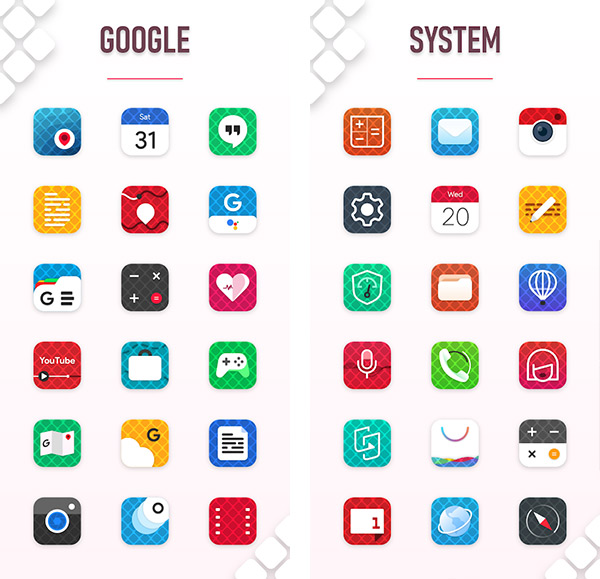 Griddle Icon Pack