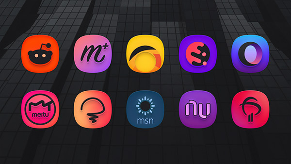 SuperBlack Icon Pack