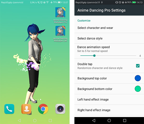 Anime Dancing Live Wallpaper Pro