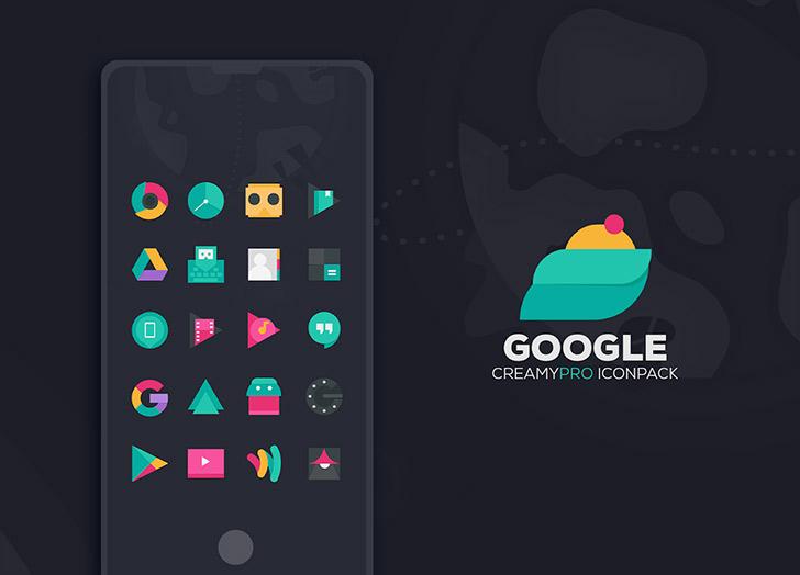 CreamyPro Icon Pack